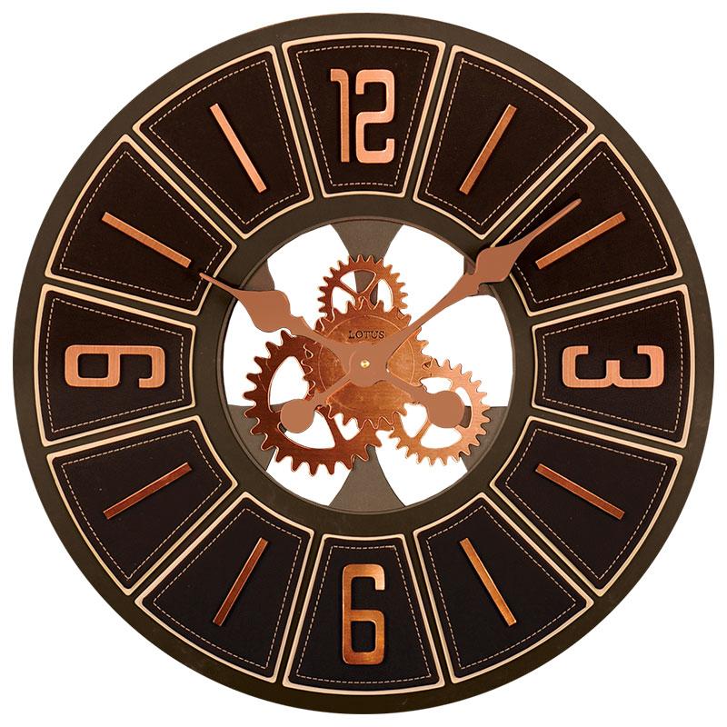 ساعت دیواری لوتوس مدل 2203 rosegold