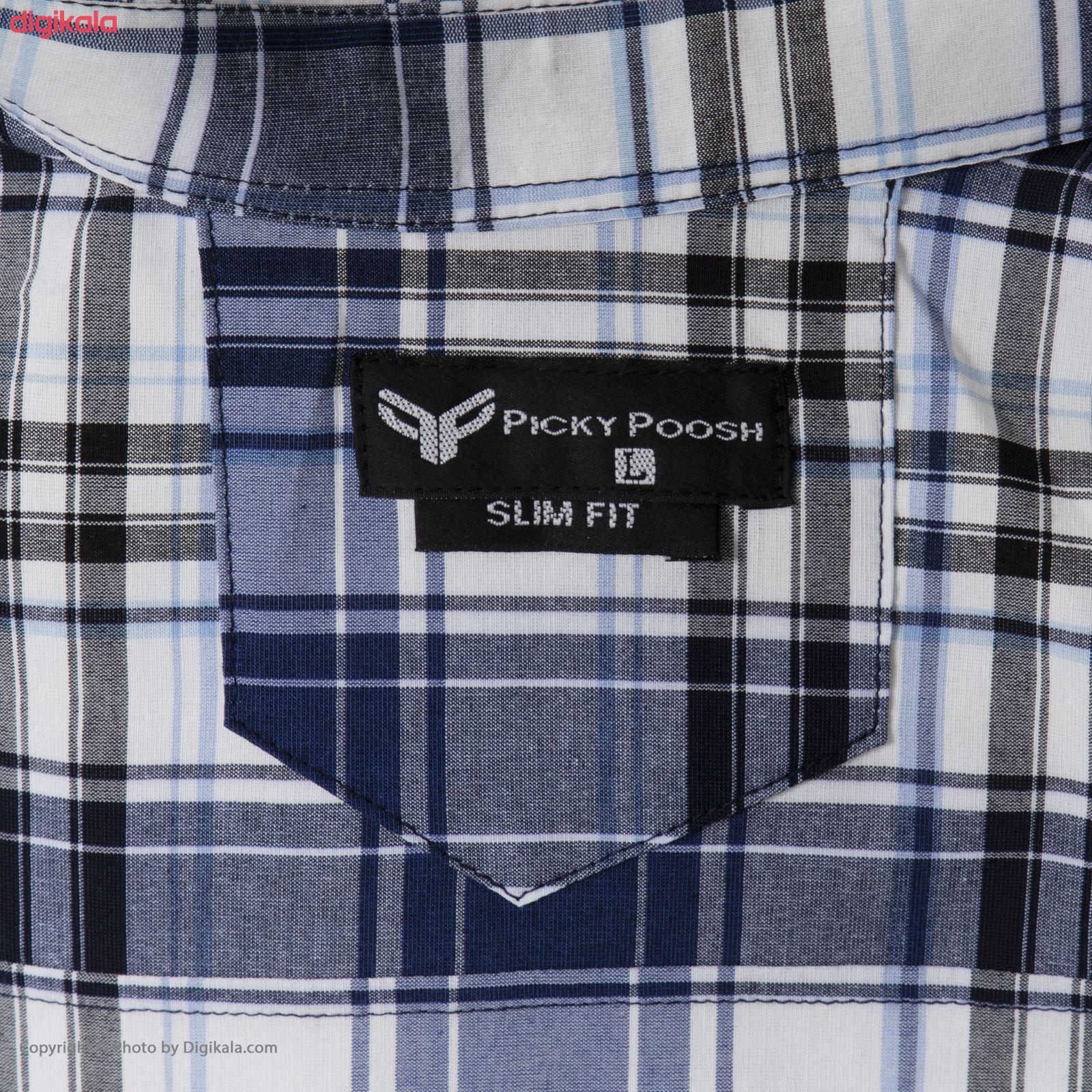 پیراهن مردانه پیکی پوش مدل M02420 main 1 4