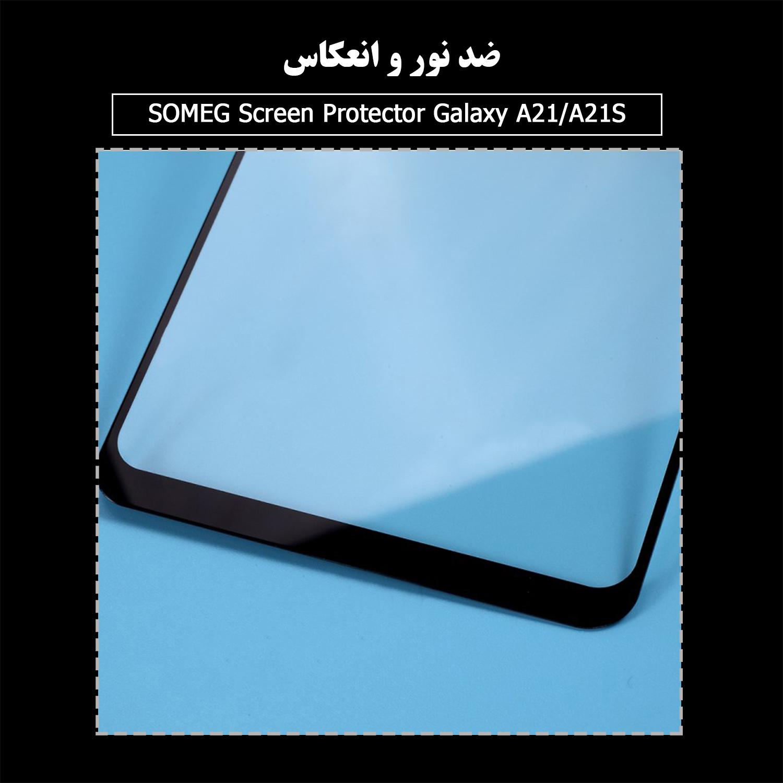 محافظ صفحه نمایش سرامیکی سومگ مدل Ruby-9 مناسب برای گوشی موبایل سامسونگ Galaxy A21 / A21s main 1 6