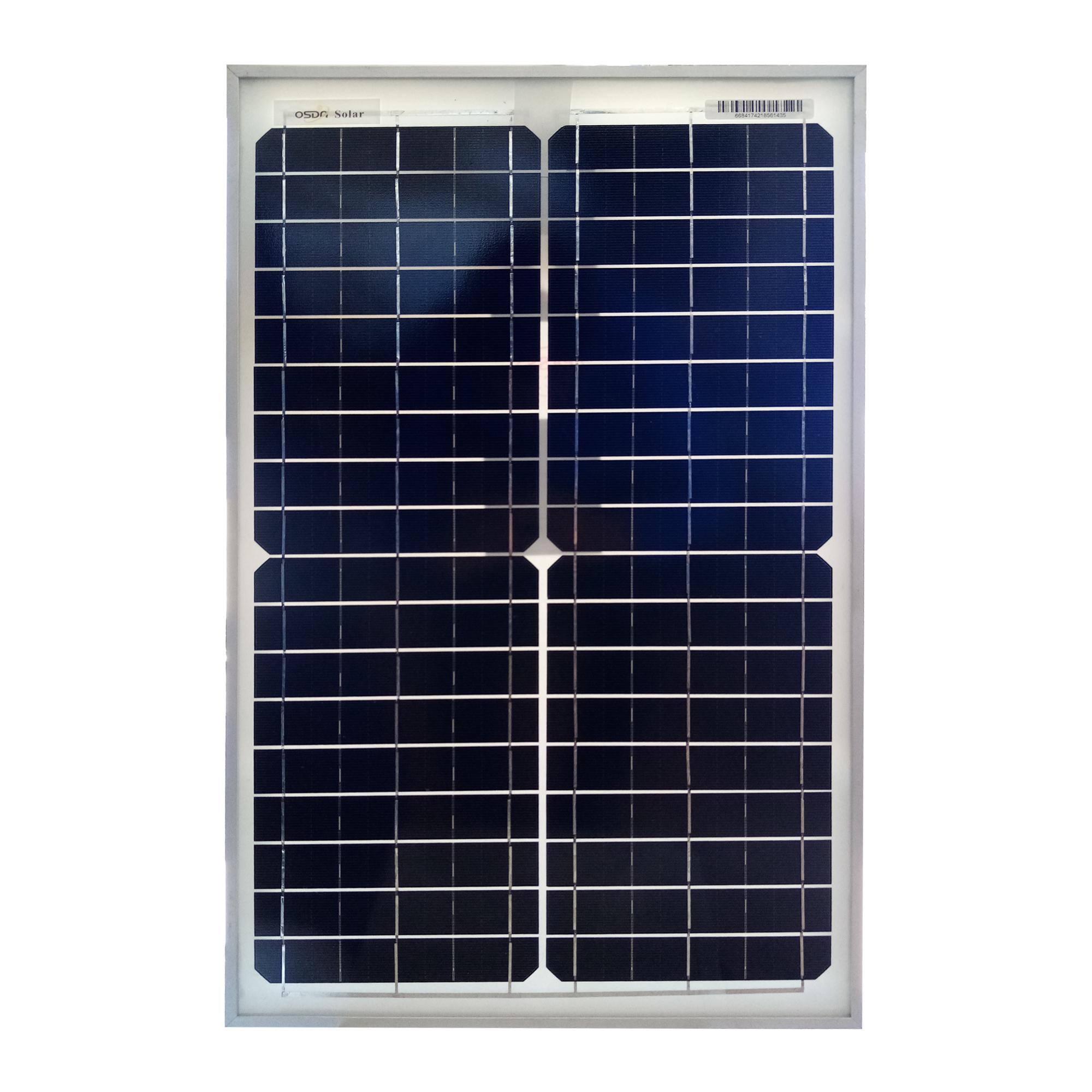 پنل خورشیدی اوسدا سولار مدل ODA30-18M ظرفیت 30 وات