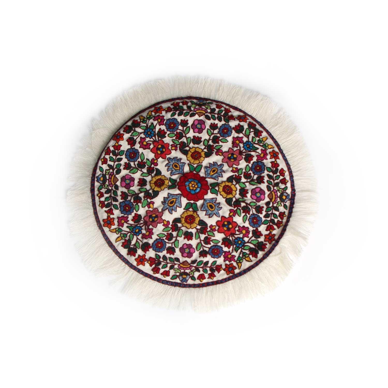 رومیزی سوزن دوزی آرانیک مدل پته دوزی کد 1004400148
