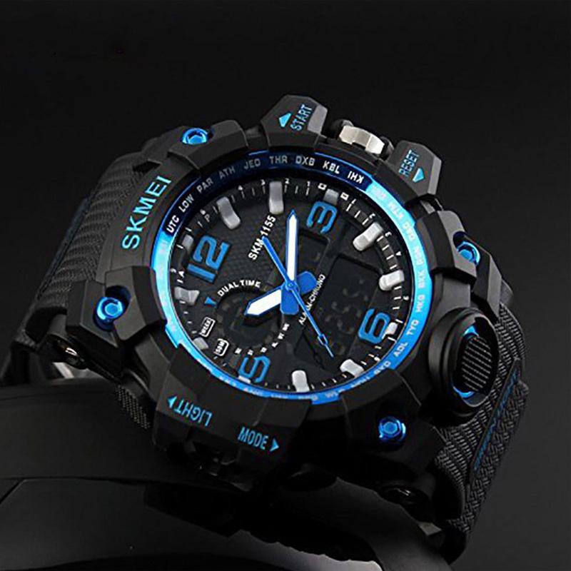 ساعت مچی عقربهای مردانه اسکمی مدل 1155 bl