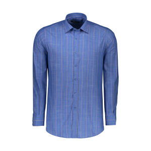 پیراهن آستین بلند مردانه کیکی رایکی مدل MBB2400-007