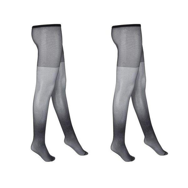 جوراب شلواری زنانه نوردای مدل 715969 مجموعه 2 عددی