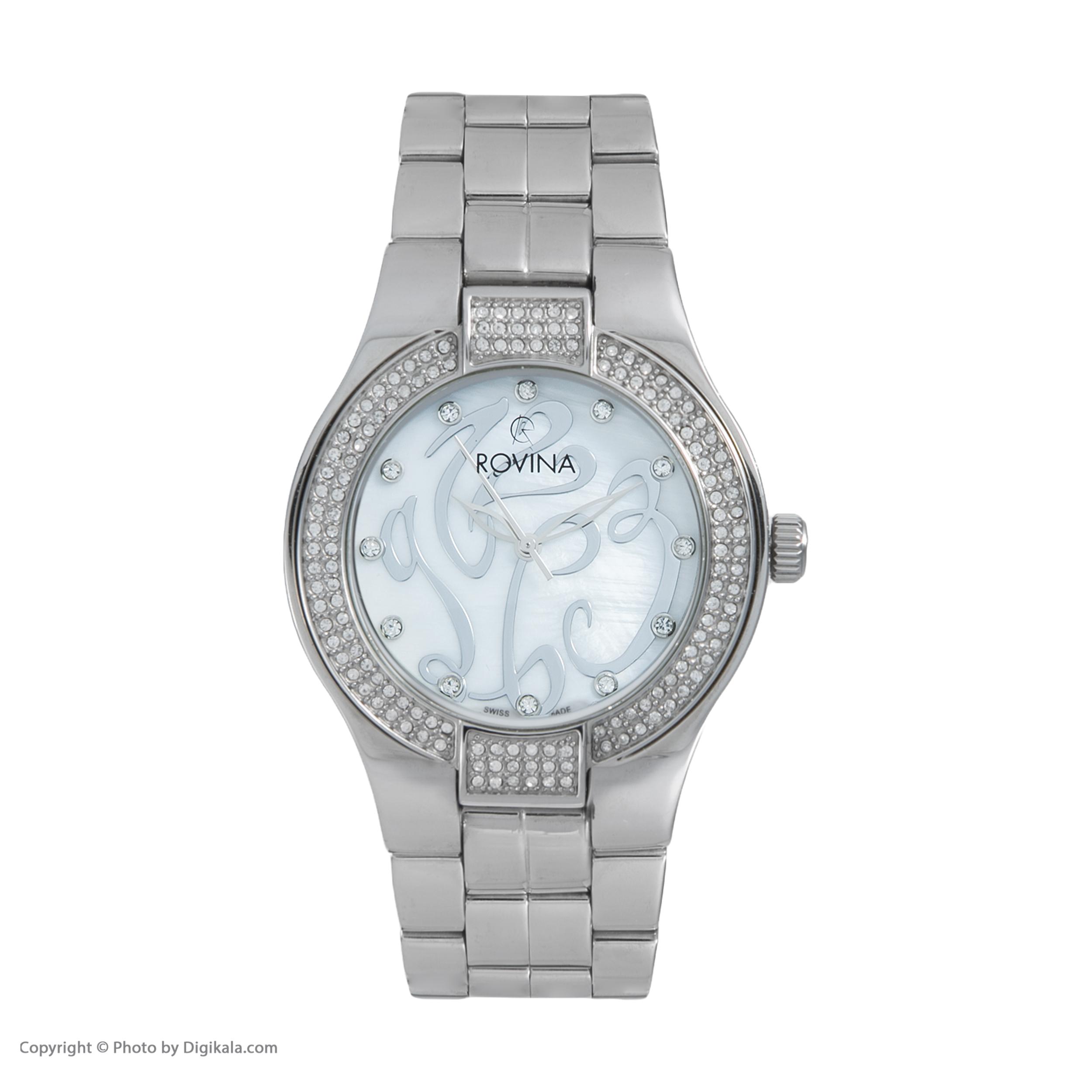 خرید و قیمت                      ساعت مچی  زنانه روینا مدل 5132-L1BW