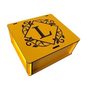 جعبه هدیه چوبی مدل j142