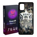 کاور گارد ایکس طرح Army مدل Glass10159 مناسب برای گوشی موبایل سامسونگ Galaxy A31