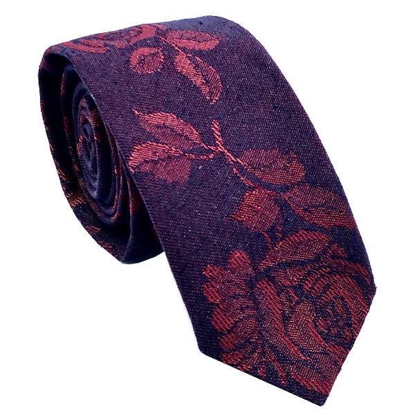 کراوات مردانه هکس ایران مدل KT-PRPL FLW