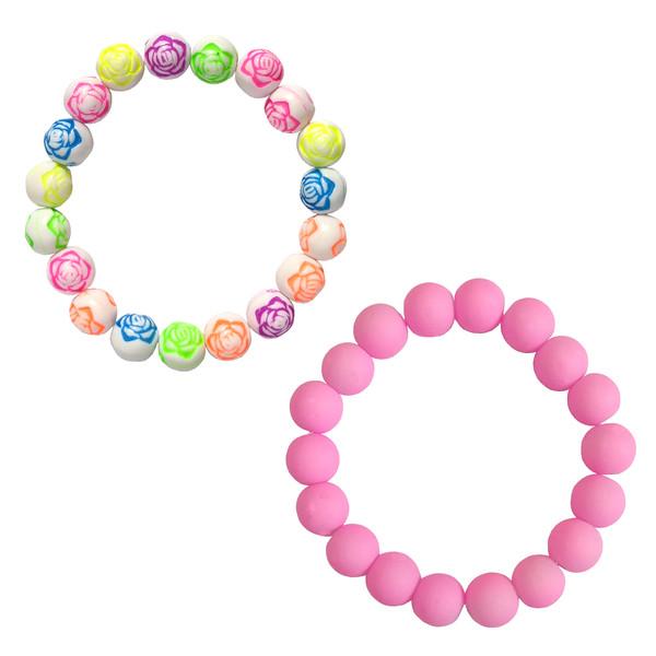 دستبند دخترانه کد DB03 مجموعه 2 عددی