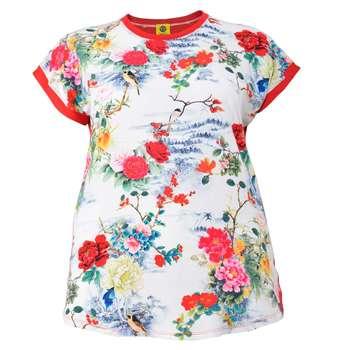 تی شرت زنانه تپل تیپ کد 0001-146