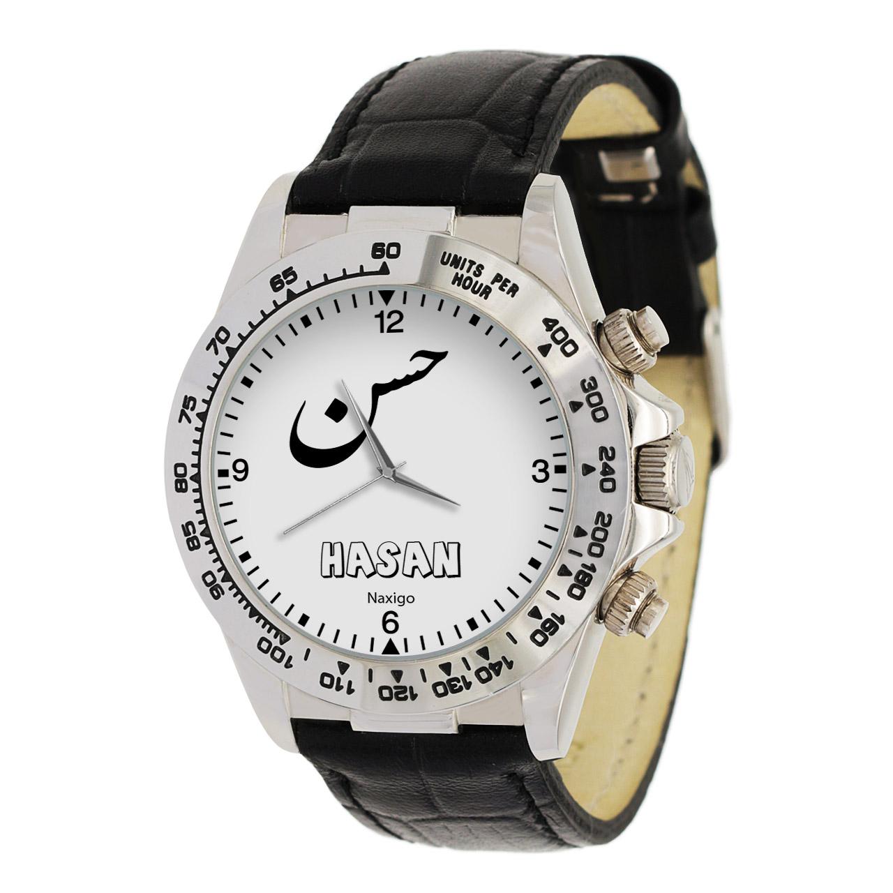 ساعت مچی عقربه ای مردانه ناکسیگو طرح حسن کد LS3655