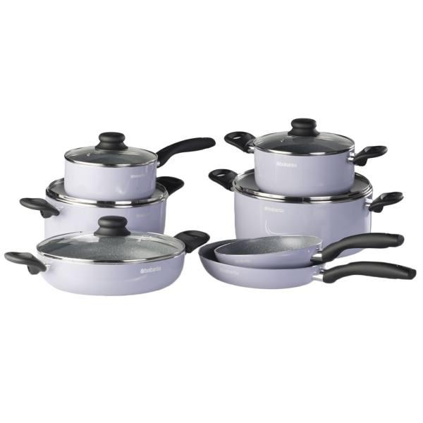 سرویس پخت و پز 12 پارچه برابانتیا مدل آلینوکس