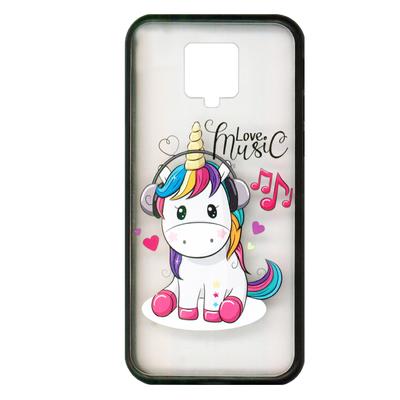 کاور مسترکینگ طرح unicorn کد 5354 مناسب برای گوشی موبایل شیائَومی Redmi note 9S / 9 pro
