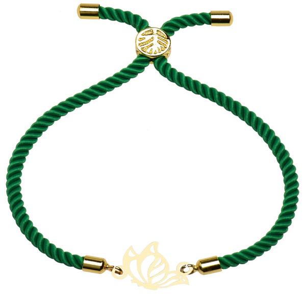 دستبند زنانه کرابو طرح پروانه مدل kb1-51
