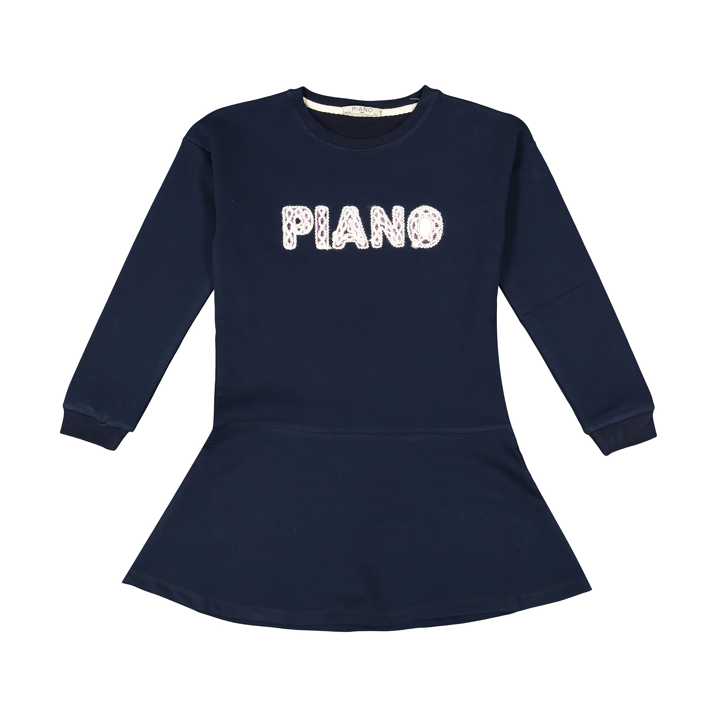 تونیک دخترانه پیانو مدل 1009009801234-59