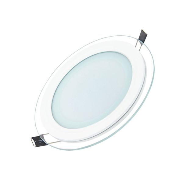 پنل سقفی ال ای دی 24 وات زمان نور مدل دور شیشه ای