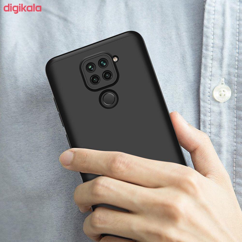 کاور 360 درجه جی کی کی مدل GK-REDMINOTE9-RMN9 مناسب برای گوشی موبایل شیائومی REDMI NOTE 9 main 1 19