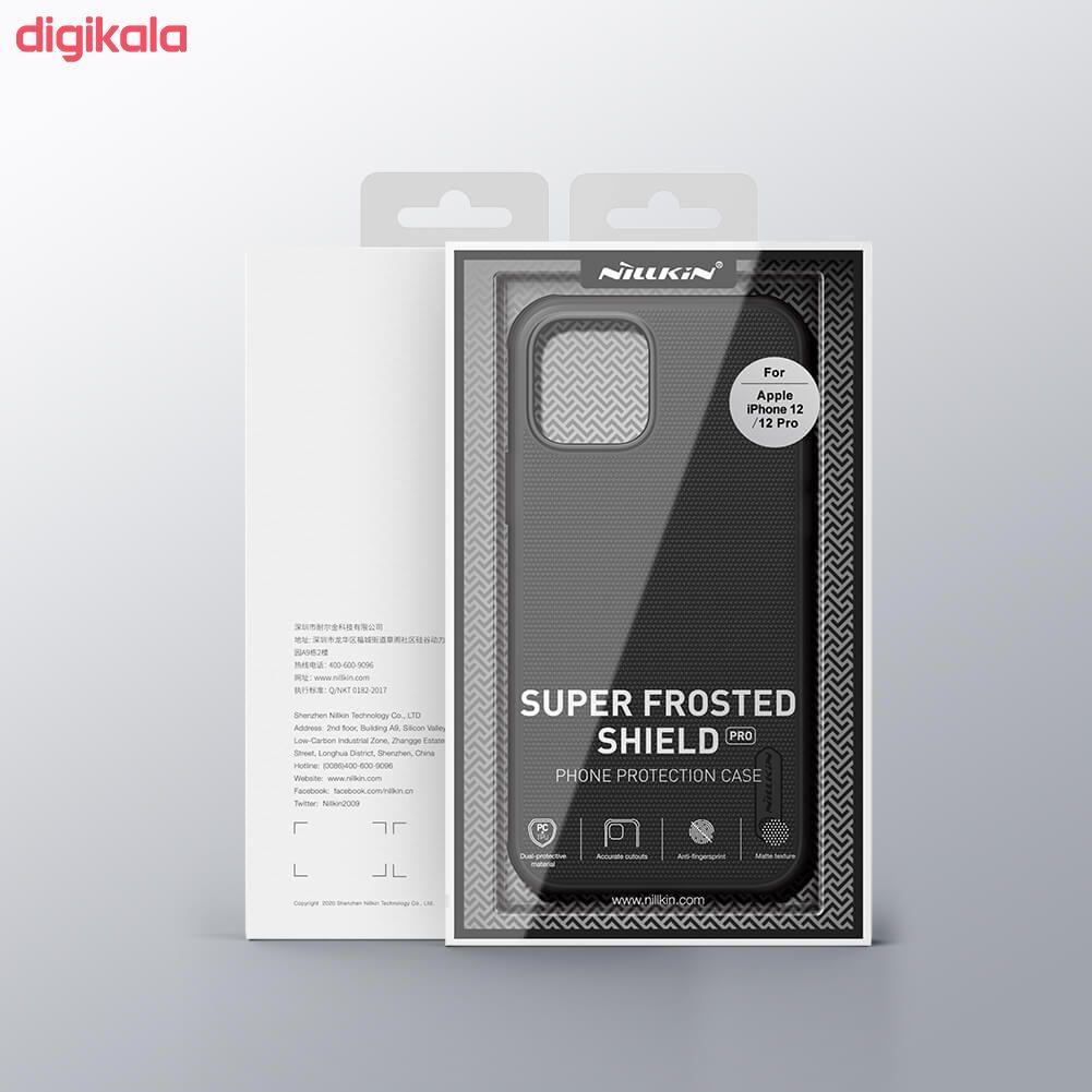 کاور نیلکین مدل  Frosted Shield Pro مناسب برای گوشی موبایل اپل Iphone 12 main 1 1