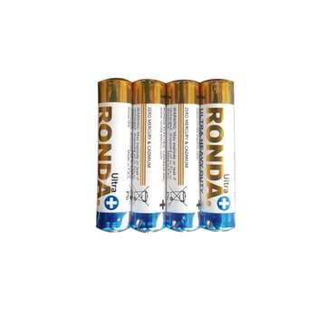 باتری نیم قلمی روندا کد 36 بسته 4 عددی