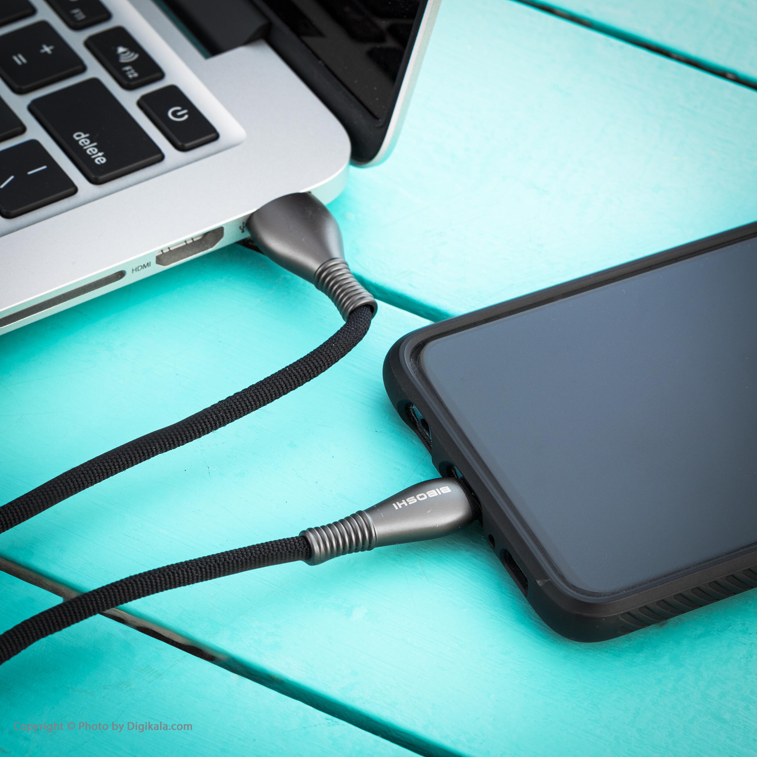 کابل تبدیل USB به USB-C بیبوشی مدل A05 طول 1 متر main 1 5