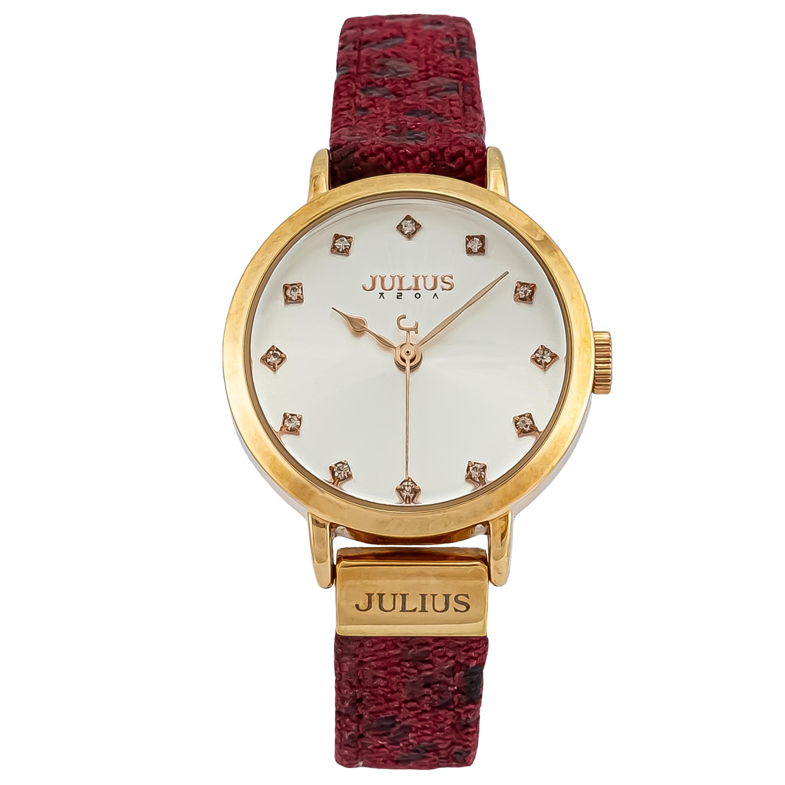 ساعت مچی عقربه ای زنانه جولیوس مدل JA976              ارزان