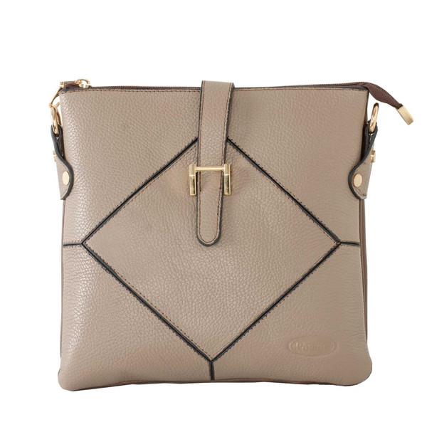 کیف دوشی زنانه پارینه چرم مدل plv222-14
