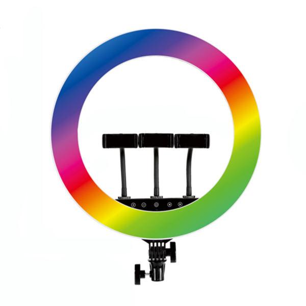 رینگ لایت مدل18 RGB