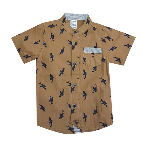 پیراهن پسرانه ال سی وایکیکی کد 02