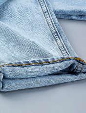شلوار جین زنانه آر اِن اِس مدل 104128-50 -  - 7