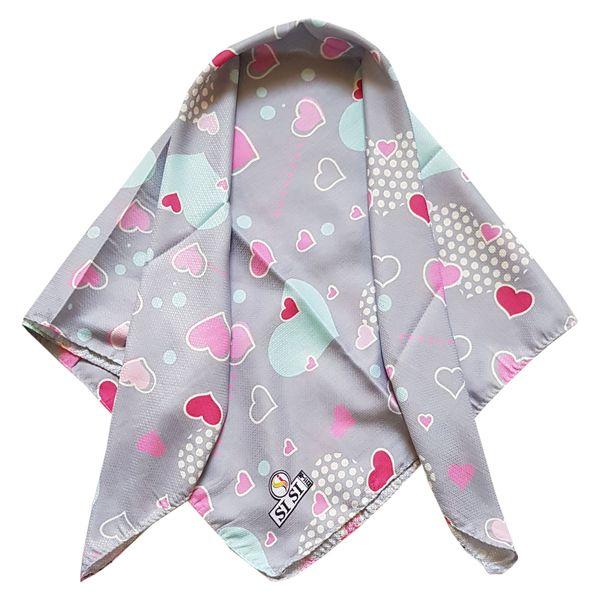 روسری دخترانه مدل قلب کد san925