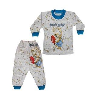ست تی شرت و شلوار نوزادی تروسکان مدل Sports Bunnuy
