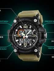 ساعت مچی عقربه ای مردانه اسکمی مدل 1283KH-NP -  - 5