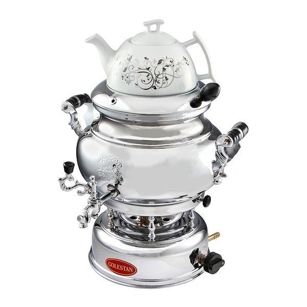 سماور گازی گلستان مدل 901 ظرفیت 7 لیتر