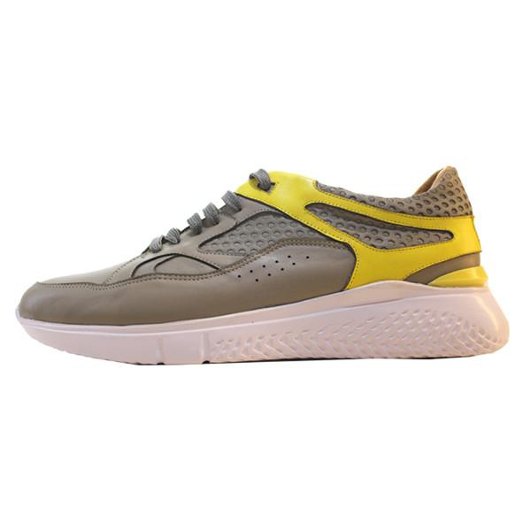 کفش روزمره مردانه چرم آرا مدل sh061 کد tz