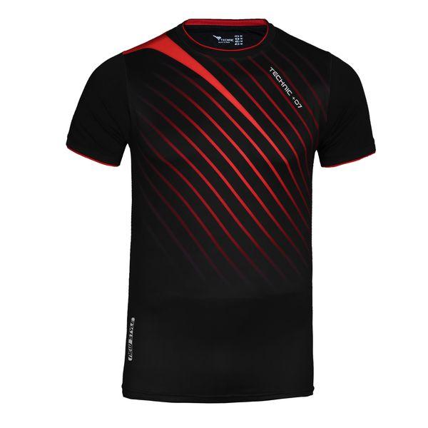 تی شرت ورزشی مردانه تکنیک پلاس 07 مدل TS-143-ME