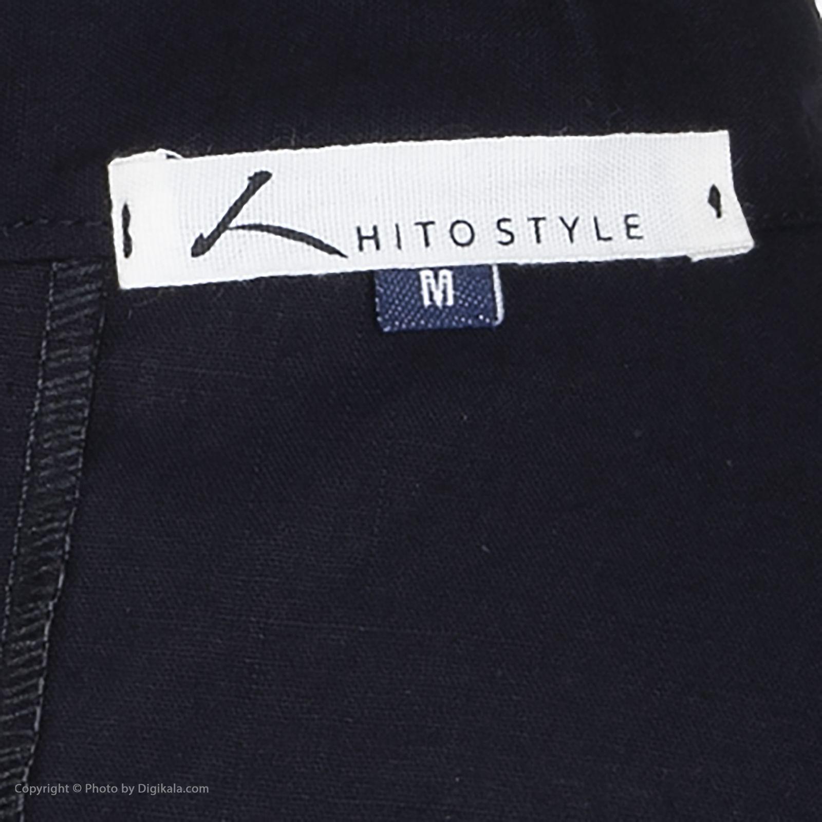 پیراهن آستین بلند مردانه هیتو استایل مدل D127F270 -  - 4