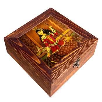 جعبه هدیه چوبی مدل     CG82
