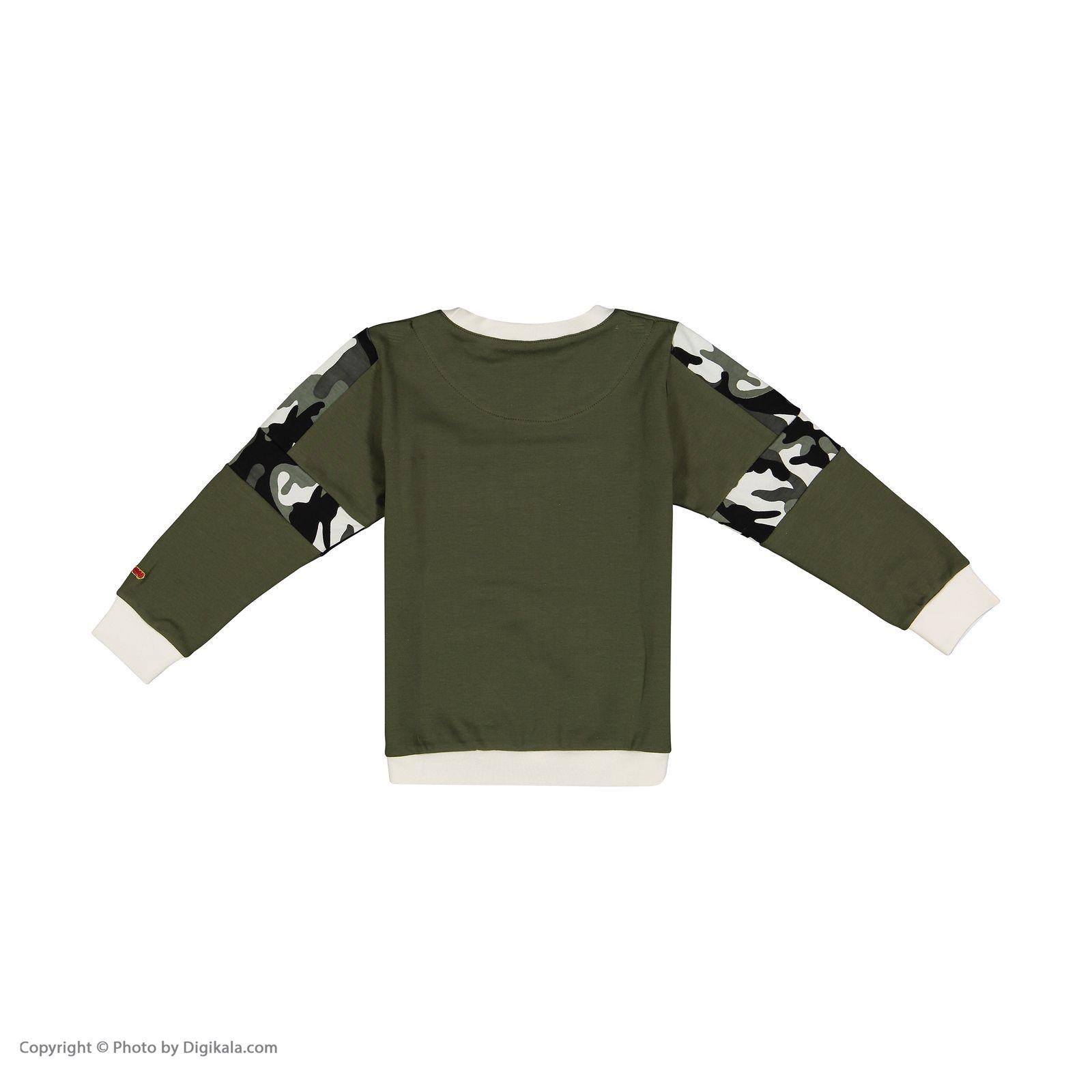 ست تی شرت و شلوار پسرانه مادر مدل 310-49 main 1 3