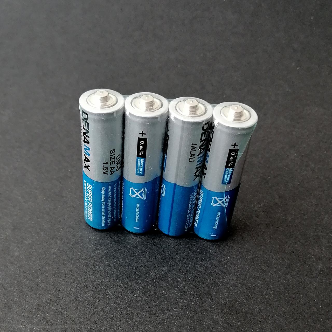 باتری نیم قلمی دنا مکس مدل R03P بسته 4 عددی main 1 8