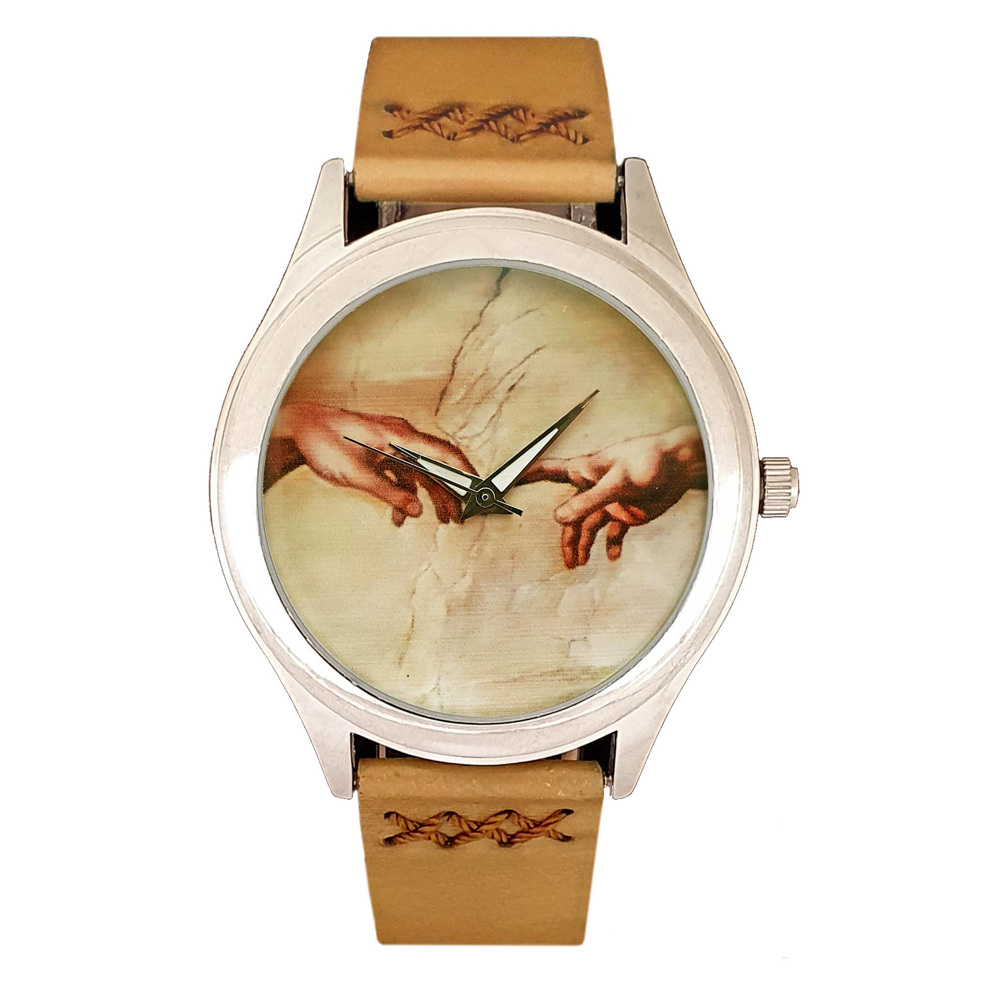 ساعت مچی عقربه ای اچ آر دیزاین گروپ مدل دست خدا w027