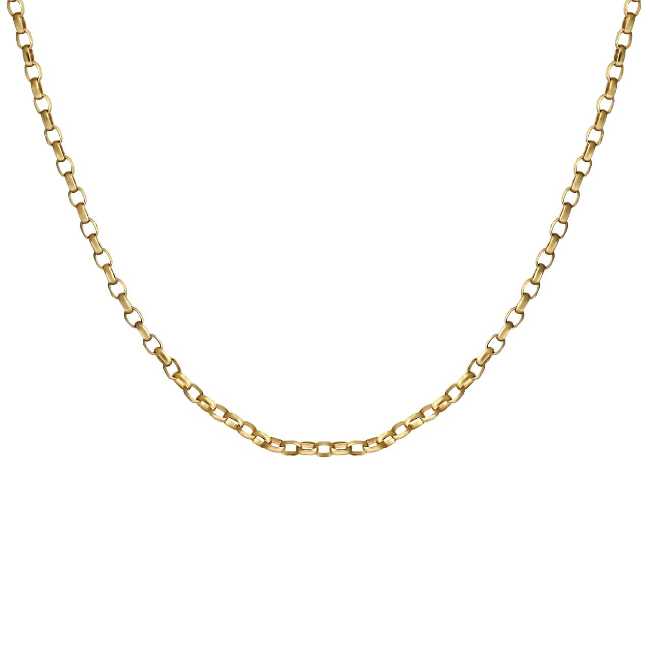 زنجیر طلا 18 عیار زنانه اقلیمه مدل ZT38