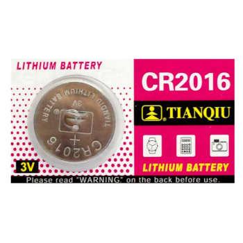 باتری سکه ای تیانکیو مدل CR2016