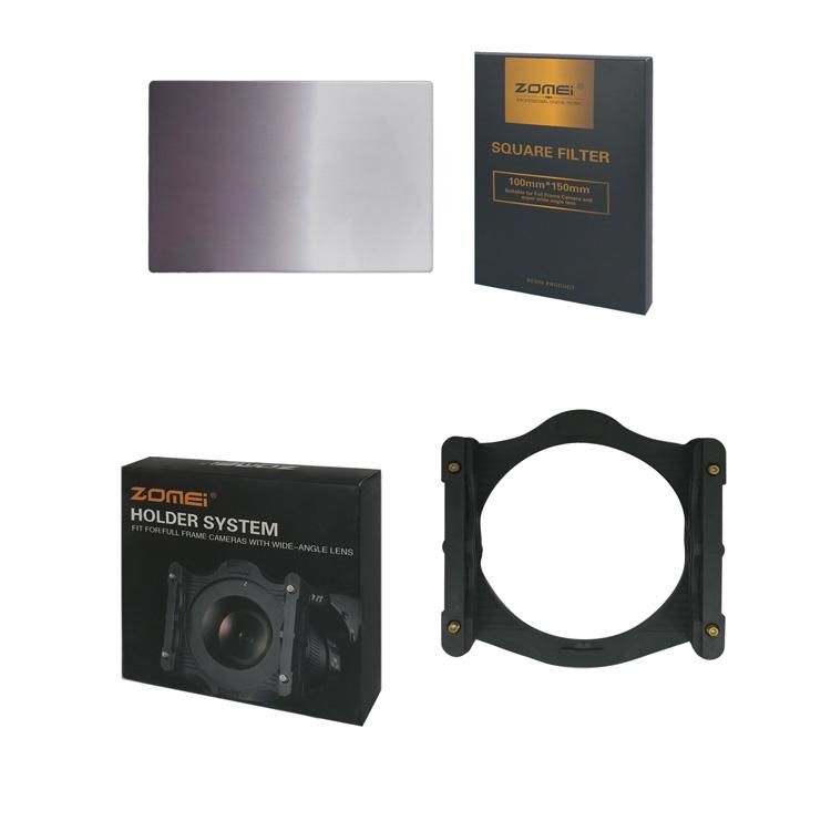بررسی و {خرید با تخفیف} فیلتر لنز زومیمدل Zomei Z 150x100mm Square U-HD GND4 Resin اصل
