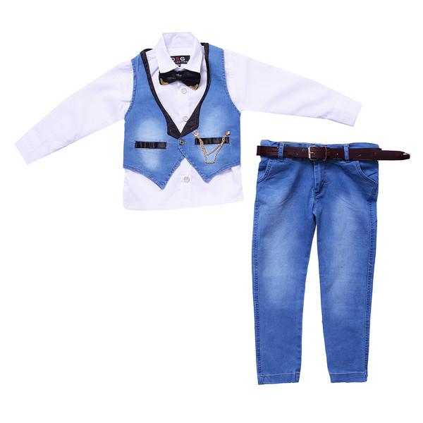 ست 5 تکه لباس پسرانه مدل MA-SP81095-SET.RS.LEE-AB