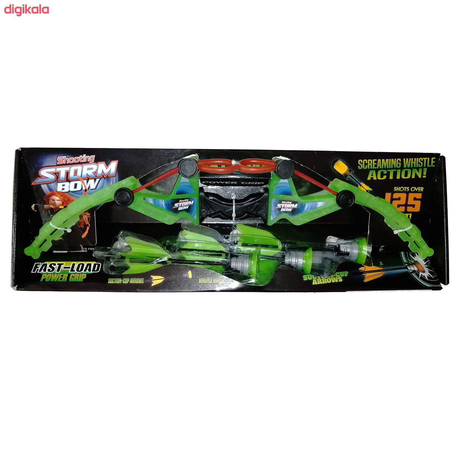 تیر و کمان مدل storm bow مجموعه 4 عددی main 1 1
