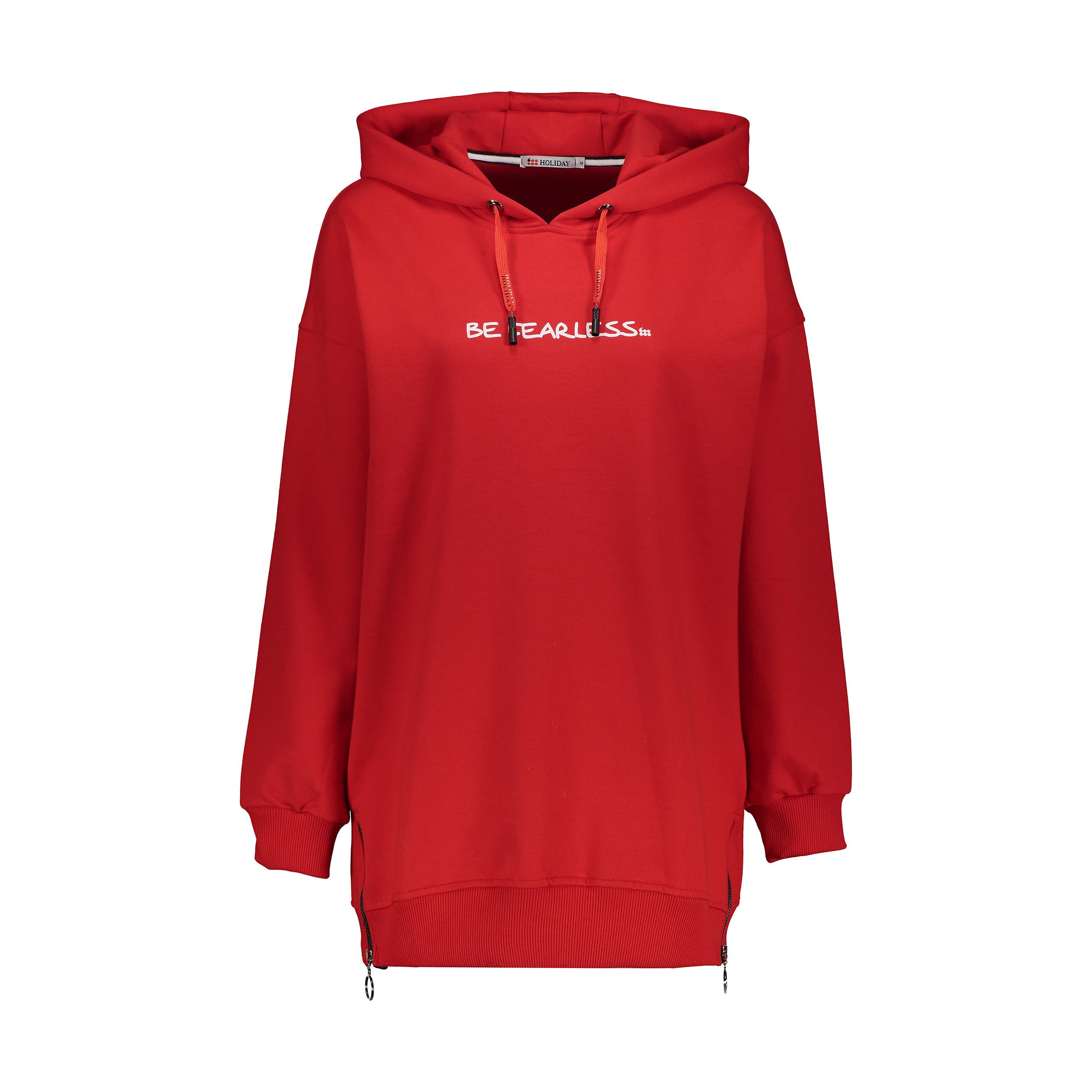 هودی ورزشی زنانه هالیدی مدل 851744-red