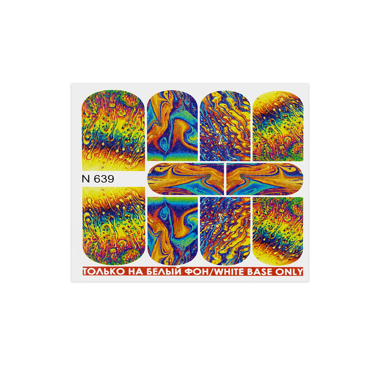 اسلایدر طراحی ناخن های لتو مدل N639