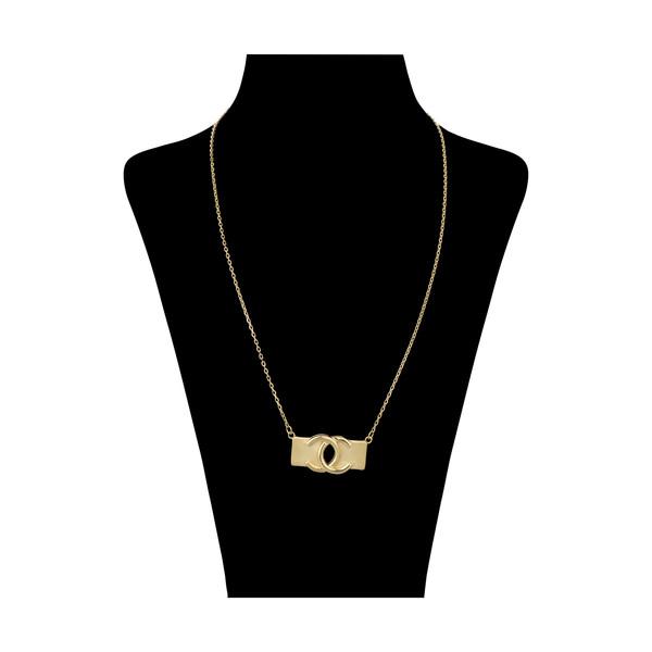 گردنبند طلا 18 عیار زنانه مایا ماهک مدل MM1289