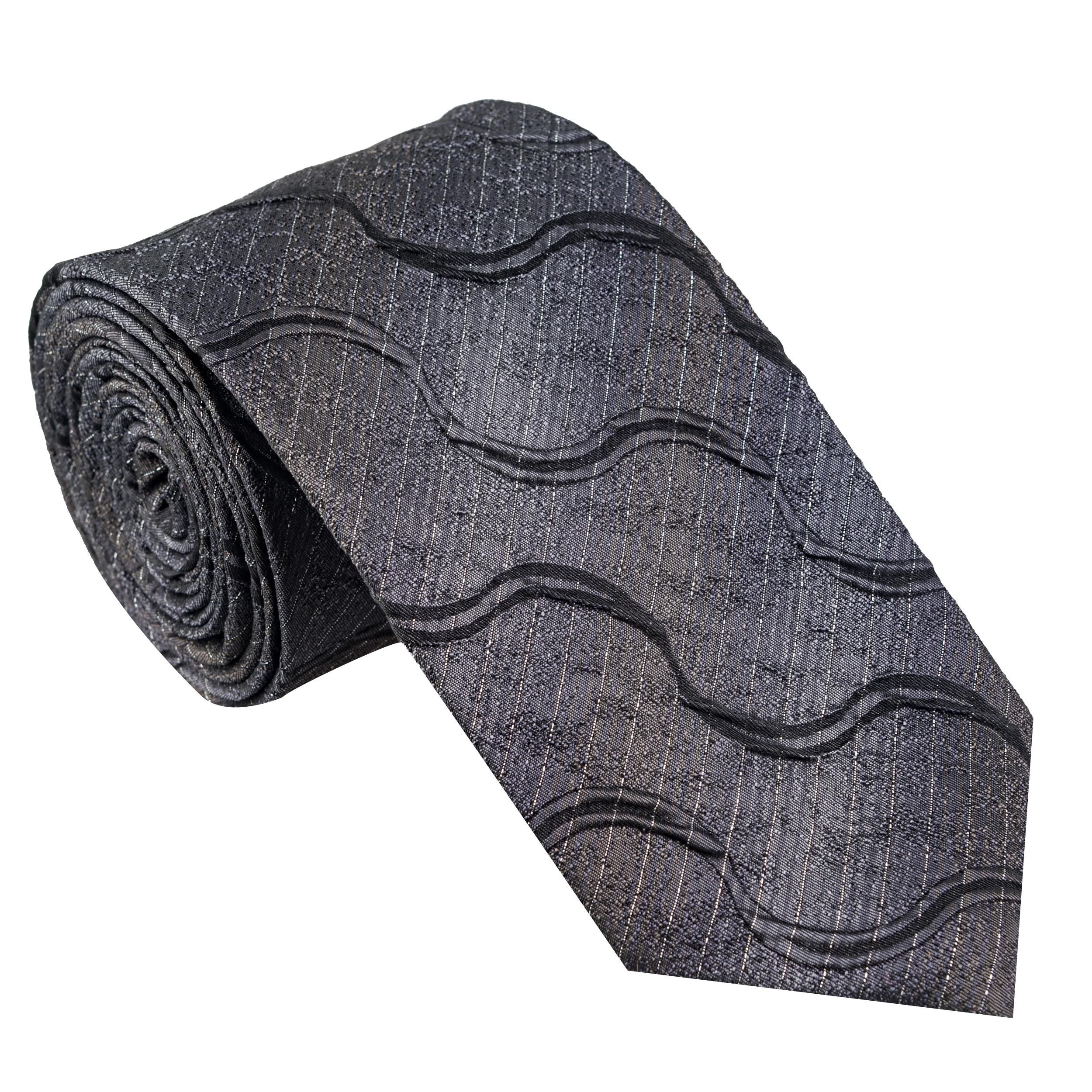 کراوات مردانه جیان فرانکو روسی مدل GF-ST512-GR