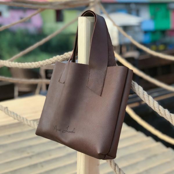 کیف دستی زنانه انار لِدر مدل کارولی